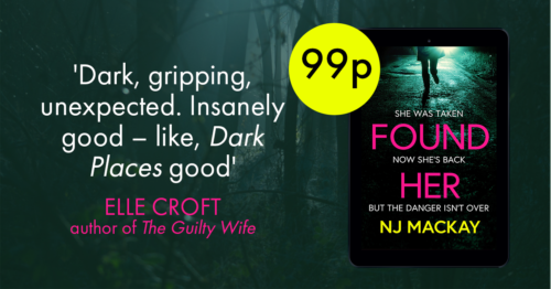 'Dark, gripping, unexpected. Insanely good - like, Dark Places good.' Elle Croft