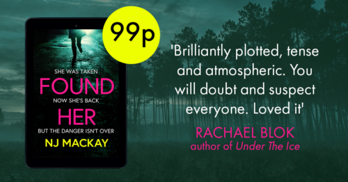 'Brilliantly plotted, tense and atmospheric. You will doubt and suspect everyone. Loved it.' Rachael Blok