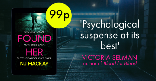 'Psychological suspense at its best.' Victoria Selman